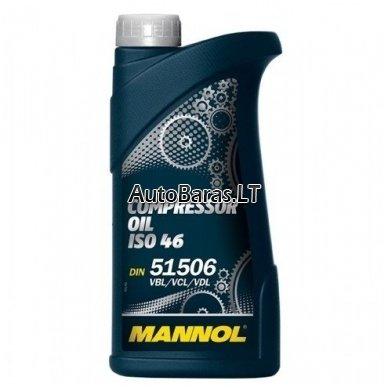 Alyva kompresorinė ISO 46 MANNOL