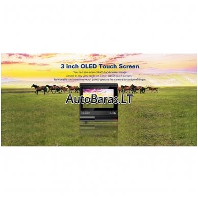 BLACKVIEW A68 dviejų kamerų vaizdo registratorius su liečiamu ekranu 4