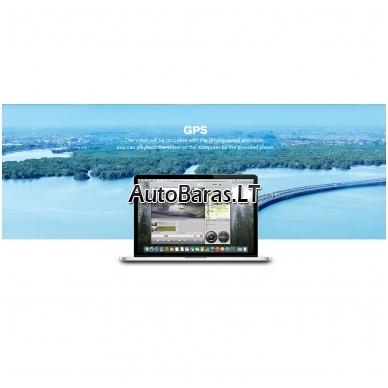 BLACKVIEW A68 dviejų kamerų vaizdo registratorius su liečiamu ekranu 6
