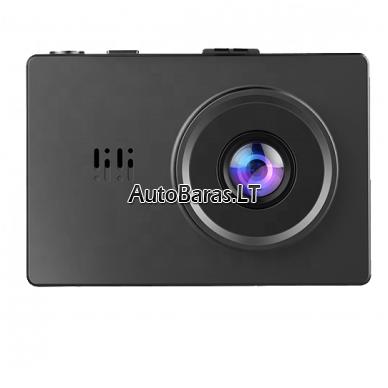 BLACKVIEW GS31 WIFI 4K dviejų kamerų video registratorius su liečiamu ekranu 7