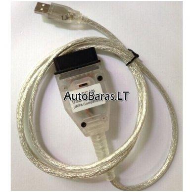 BMW INPA su jungikliu FT232RL - diagnostikos kabelis 3