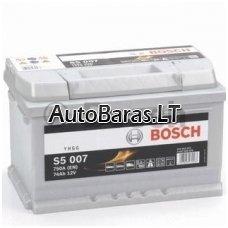 Bosch S5 akumuliatorius 74Ah 750A