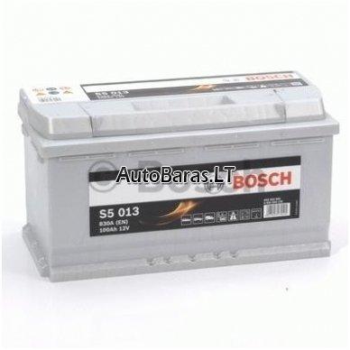 Bosch S5 akumuliatorius 100Ah 830A