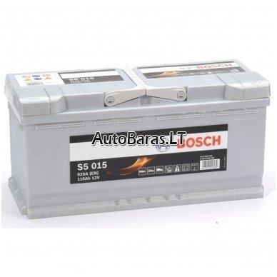 Bosch S5 akumuliatorius 110Ah 920A