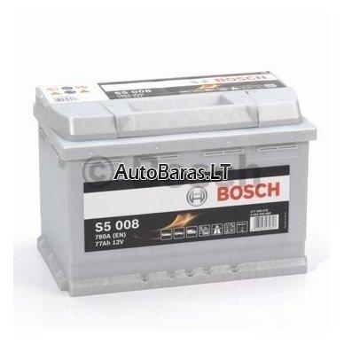 Bosch S5 akumuliatorius 77Ah 780A