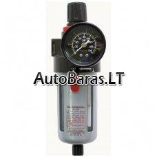CAMRY reguliuojamas kondensato filtras / separatorius oro kompresorio sistemai