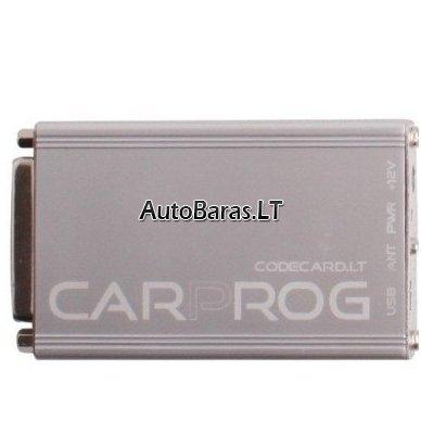 CarProg V8.31 pilna ONLINE versija su papildomais kabeliais (programavimui)