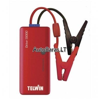 Daugiafunkcinis įkroviklis - paleidėjas 12V 800A 12Ah TELWIN Drive 13000 3