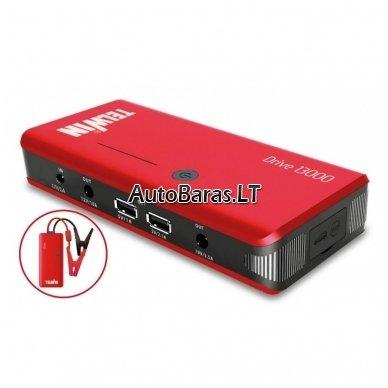 Daugiafunkcinis įkroviklis - paleidėjas 12V 800A 12Ah TELWIN Drive 13000