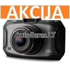 DĖMESIO !!! vienas iš geriausių: Vaizdo Registratorius G90C GPS WFHD (Ultra Wide FULL HD) 60fps (POPULIARIAUSIAS)
