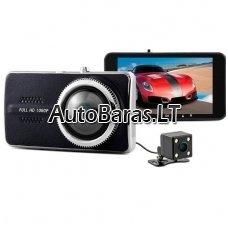 Dviejų kamerų video registratorius Y900