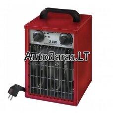 Elektrinis oro šildytuvas EUROMAC EK2001 2,0 kW; Galingumas 2000 W;