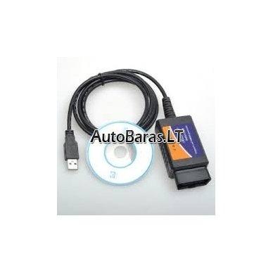 ELM327 V1.5 versija obd auto diagnostika - USB cable