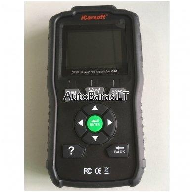 iCarsoft i820 universalus diagnostikos įtaisas 4