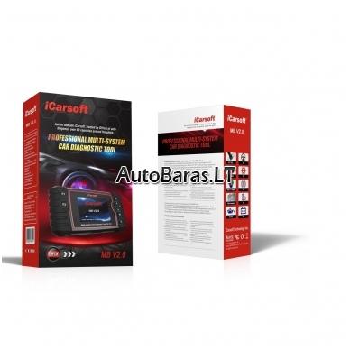 iCarsoft MB II Mercedes-Benz / Sprinter / Smart diagnostikos įtaisas 4
