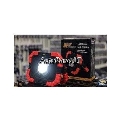 K27 Įkraunamas nešiojamas LED darbinis prožektorius 10 W 680 lm