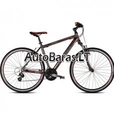 "Kalnų dviratis Dviratis Drag ZX Base 21,5"""
