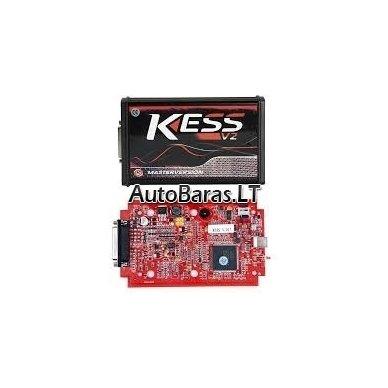 KESS V2 MASTER OBD Čipavimo programatorius (RED) V5.017