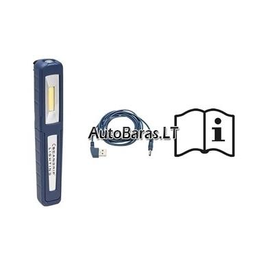 Kišeninis šviestuvas LED, pakraunamas SCANGRIP UNIPEN 2