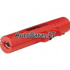 KNIPEX Universalus elektriko įrankis laidams nužievinti, 125 mm