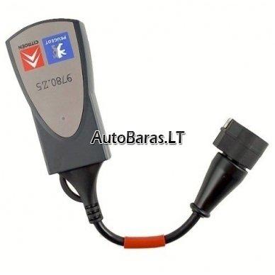 LEXIA 3 FULL CHIP Gold - Citroen / Peugeot - diagnostikos įtaisas 2