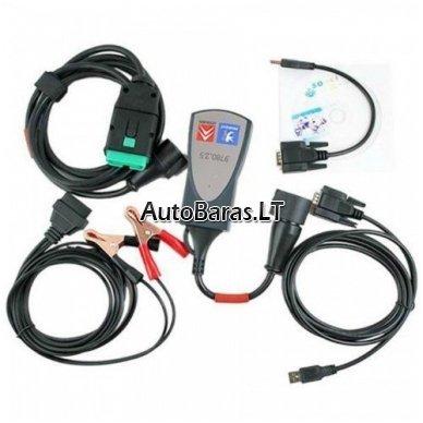 LEXIA 3 FULL CHIP Gold - Citroen / Peugeot - diagnostikos įtaisas