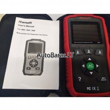 Mercedes-Benz iCarsoft i980 diagnostikos įtaisas 3