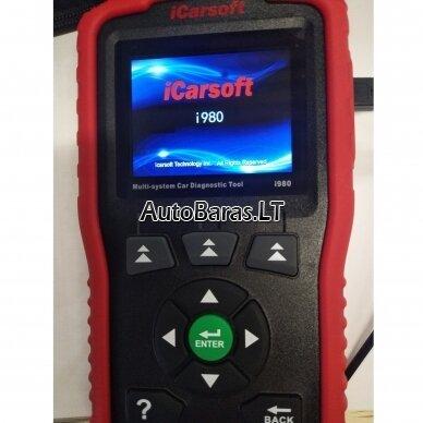 Mercedes-Benz iCarsoft i980 diagnostikos įtaisas 4