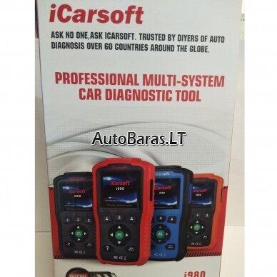 Mercedes-Benz iCarsoft i980 diagnostikos įtaisas 7