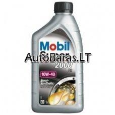 MOBIL SUPER 2000 X1 10W40 - alyva / tepalas