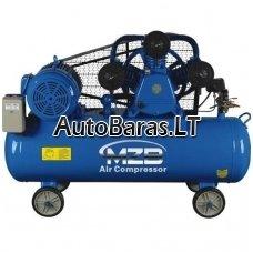 MZB oro kompresorius su diržine pavara - 7,5kw ; 180l ; 660l/min ; 12.5bar