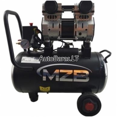 MZB Oro kompresorius betepalinis 24l 210L/min 8bar