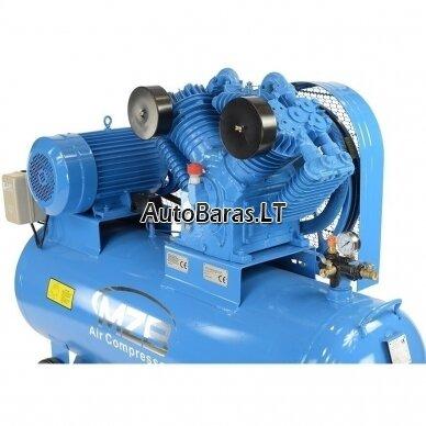 MZB oro kompresorius su diržine pavara 7.5kW 300L 1153L/min 12.5bar 2
