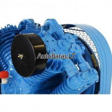 MZB oro kompresorius su diržine pavara 7.5kW 300L 1153L/min 12.5bar 5