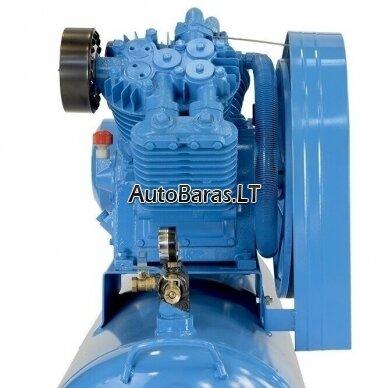 MZB oro kompresorius su diržine pavara 7.5kW 300L 1153L/min 12.5bar 7