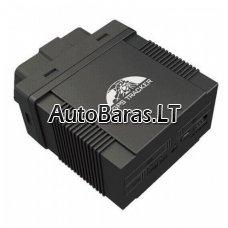OBD GPS seklys (GPS TRACKER) GSM/GPRS