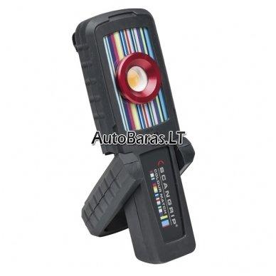 Pakraunamas LED šviestuvas spalvų suderinimui SCANGRIP SUNMATCH 2