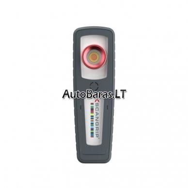 Pakraunamas rankinis LED šviestuvas spalvų suderinimui SCANGRIP SUNMATCH 3 2
