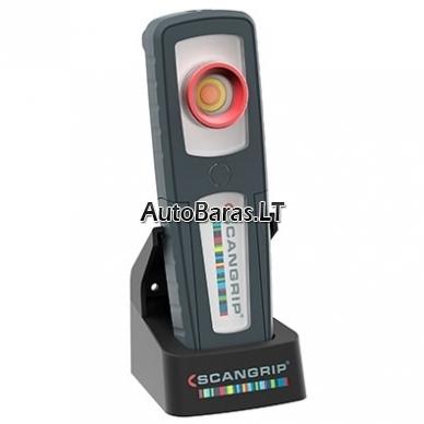 Pakraunamas rankinis LED šviestuvas spalvų suderinimui SCANGRIP SUNMATCH 3