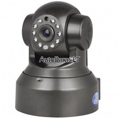 Patalpų stebėjimo kamera IP HD960p su Wifi + 64gb SONY 90mb/s atminties kortelė 2