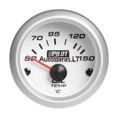 Pilot GAUGE - matuoklis / gauge - Alyvos / Tepalo temperatūros 52mm