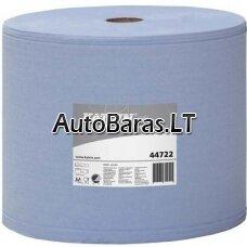 Popieriaus rulonas 2 sluoksnių 26 cm pločio 350 m. KATRIN Plus L mėlynas TECHNINIS