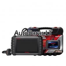 Profesionalus iCarsoft CR MAX diagnostikos įtaisas su liečiamu ekranu