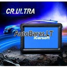 Profesionalus iCarsoft CR ULTRA diagnostikos įtaisas su programavimu ir kodavimu