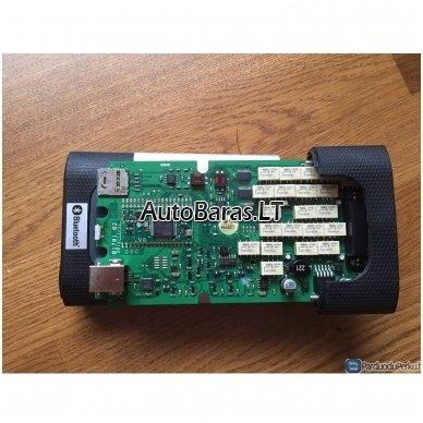 Profesionalus diagnostikos OBD pilnas komplektas su bluetooth Autocom CDP+ Pro kartu su planšetiniu kompiuteriu 2