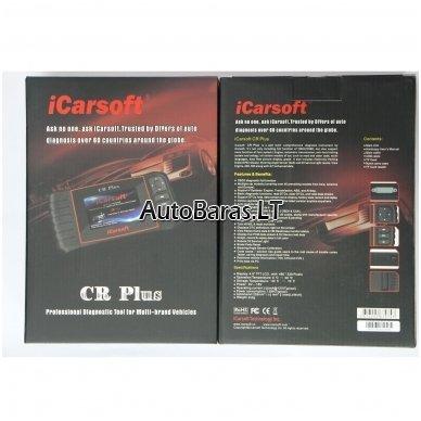 Profesionalus iCarsoft CR PLUS diagnostikos įtaisas 3