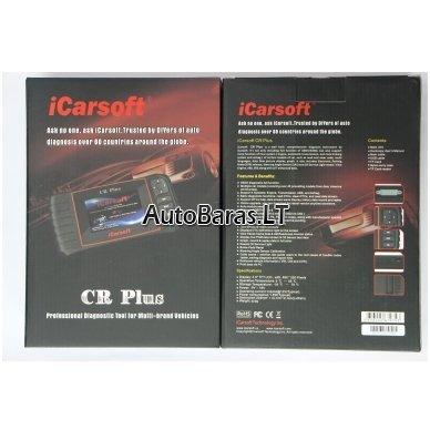 Profesionalus iCarsoft CR PLUS diagnostikos įtaisas 2
