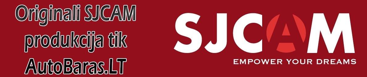 SJCAM veiksmo kameros ir jų priedai - Originali produkcija