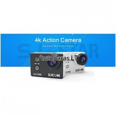 SJCAM SJ7 Star + dovana belaidis laikrodis kameros valdymui 3