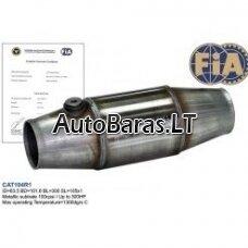 Sportinis nerūdijančio plieno katalizatorius su FIA sertifikatu
